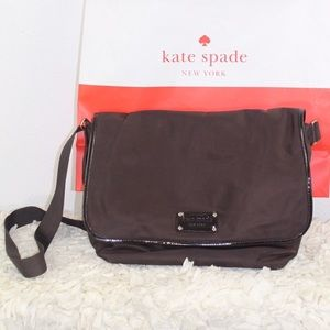 Kate Spade Bag/Book Or Diaper Bag Brown  Crossbody